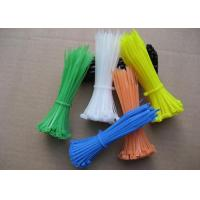 China Colorful Nylon Tie Wraps Cable Ties Nylon Cable Ties High Tensile Strength wholesale