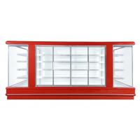 China Supermarket Open Multideck Open Chiller Refrigerating Showcase Europe Type wholesale