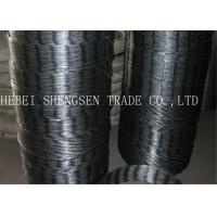 China CBT 65 22 Mm Galvanized Razor Wire Fence Rust Resistance For Mesh Fence wholesale