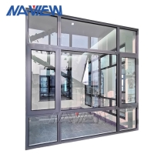 China Modern PVDF Coating Horizontal Vertical Aluminium Casement Windows wholesale