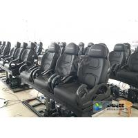 China 3DOF Fiberglass Black 5D Theater System Motion Chair Cabin For Park wholesale
