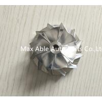 China GT15-25 52.19x56.39mm 454135 6+6 blades billet turbocharger compressor wheel for 452204/45 wholesale