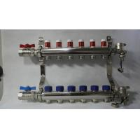 China Radiant Floor Manifold For Underfloor Heating 304 Stainless Steel wholesale