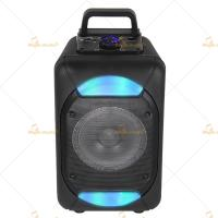 China Outdoor Bluetooth Trolley Speaker Portable PA System With Wireless Microphone on sale