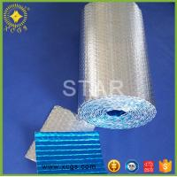 China Aluminum foil bubble heat insulation with woven cloth / Reinforced Heat Insulation Material wholesale