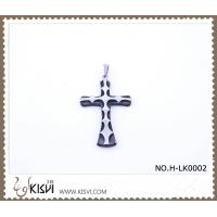 China Hot sell 316 Stainless Steel Cross  Pendant H-LK0002 wholesale