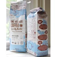 China Custom Side Gusset Coffee Packaging Bag , PET / AL / PE Aluminum Foil Coffee Pouch on sale