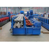 China Freeway Guardrail Cold Forming Machine Use Gimble Gear Reducer with Hydraulic Punching Holes System and Cutting Method wholesale