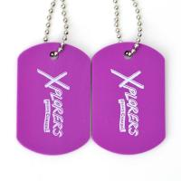 China Plastic Custom Promotional Gifts Dog Tags Rubber Material Printing Custom With Ball Chain wholesale