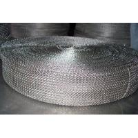 China Cable Shielding Security Stainless Steel Knitted Wire Mesh For Exhaust Systems wholesale