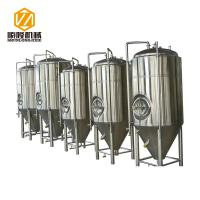 China Glycol Cooling Stainless Steel Fermentation Vessel 20HL 360° Coverage Spraying Ball wholesale
