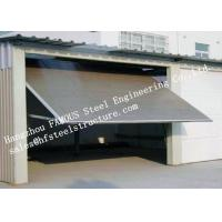 China Modern Aluminum Industrial Garage Doors Present Contemporary Elegance With Sleek Lines wholesale