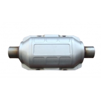 China Carbon Steel EPA CARB 5 Inch Diesel Car Catalytic Converter wholesale