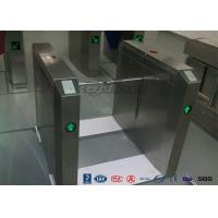 Quality Drop Arm Turnstile 13.56Mh RFID Durable Security Pedestrian Barrier Gate Drop for sale