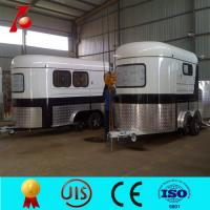 2 horse angle load floats,fiberglass camper trailer