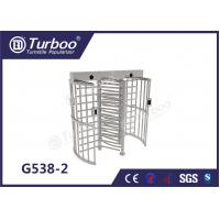 China Fingerprint Scanner Full Height Turnstile Gate G538-2 OEM Service Turnstile Motor wholesale