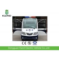 Buy cheap 8 Seats Enclosed Electric Pick Up Car With Alarm Lamp For City Walking Street from wholesalers