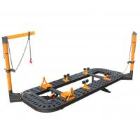 China Auto Body Frame Machine For Large Car Straightening Bench 5600* 2100*580mm wholesale