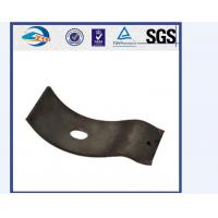 China 55Si2Mn 38Si7 Elastic Rail Clips Railway Fastening System 44HRC - 48HRC wholesale