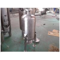 China 304 Stainless Steel Air Compressor Receiver Tank , Pneumatic Accumulator Tank wholesale
