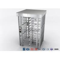 China Indoor Or Outdoor Pedestrian Turnstile Security Systems Semi - Auto Mechanism Housing wholesale