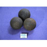 China High Impact toughness Chemical Industry B3 D120mm Steel Balls For Ball Mill , Grinding Media Carbon Steel Ball wholesale