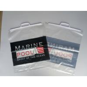 China Rigid Clip Die Cut Plastic Bags , Color Printing Transparent Bag wholesale