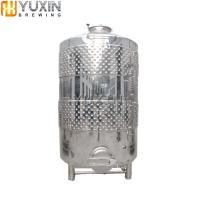 Winery Equipment 500L 1000L Stainless Steel Wine Fermentation Tank