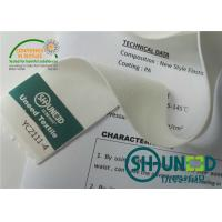 China Eco - Friendly Big Elastic PA Adhesive Lining And Interlining Dry Cleaning wholesale