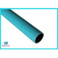 China Composite Pipes Use For Production Line Blue Plastic Coated Steel Pipe wholesale