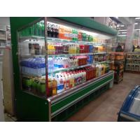 China Remote Cooling Vegetables Refrigerated Display Cabinets For Super Store wholesale