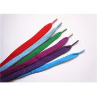 Quality Eco Friendly Elastic Wide Shoe Laces Extra Long Metal Aglet For Garment for sale