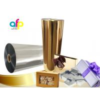 China Chemically Treated Polyester Metallized Thermal Laminate Film for Offset Printing wholesale