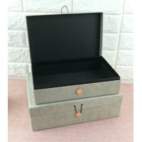Luxury Rigid Cardboard Custom Printed Jewelry Boxes , Jewelry Gift Boxes With Closure