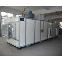 China PLC Automatic Industrial Air Dehumidifier With Cooling Coil 6000m3/h wholesale