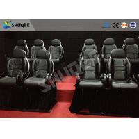China Hydraulic 4DOF 5D Movie Theater 5d Movie Theatre With Dynamic System Motion Rides wholesale