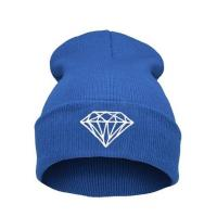 China Casual Warm Winter Knit Caps For Men Embroidered , Knitted Beanie Hats wholesale