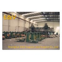 China 30mm Copper Rod Upward Casting Machine 350 Kwh/Ton With Automatic Coiling wholesale