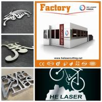 China Highly Speed Fiber Laser Cutting Machine For Stainless / Carbon Steel 500W wholesale