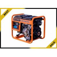 China Economical 5 Kw Gasoline Electric Generator Orange Color Continuous Stable Running wholesale