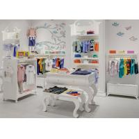 China Kids Shop Display Furniture / Retail Apparel Fixtures Lovely Elegant Style wholesale