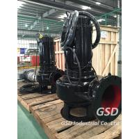 Commercial Rigid Sewage Pump Single Stage With Teco Motor High Performance