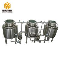 Quality Home / Pilot Beer Distillery Equipment 100 Liter With Electrical Heating for sale