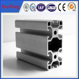 China Manufacture 99% pure alloy 6063 v-slot industrial aluminum profile, OEM ODM China aluminum wholesale