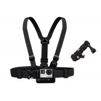 China Body Waterproof Camera Chest Mount Action Camera Straps With 3 - Way Adjustment Base wholesale