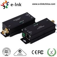 China Mini 1 Channel IP Ethernet Over Coax Cable Extender Converter RJ45 / BNC Connector wholesale