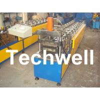 China 10 Station Metal U Runner Roll Forming Machine For Light Steel Stud / Track wholesale