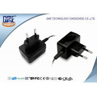 China GME EU 12V 500mA switching wall plug power supply  with CE ROHS  CB GS certificates wholesale