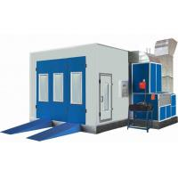 China Water Based Car Diesel Heating Automotive Paint Booths With 0.6mm Galvanized Plate wholesale