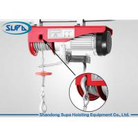 China 600kg Electric Winch Wire Rope Hoist Mounting Convenient Light Weight wholesale